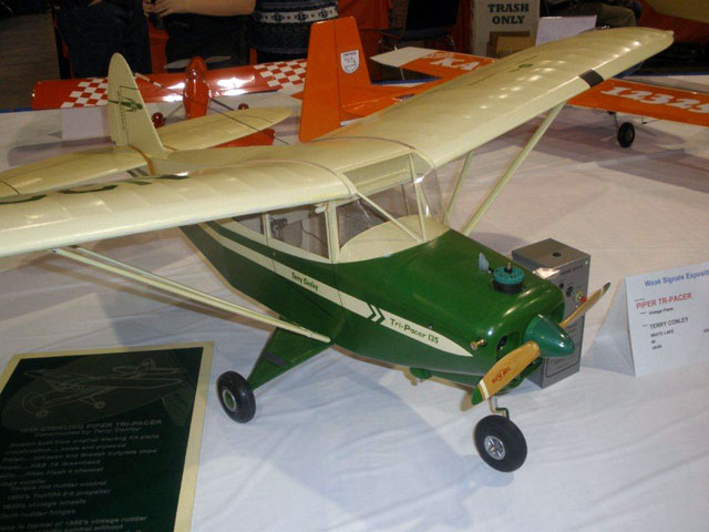 Piper Tri Pacer - oz5068 - TerryConley
