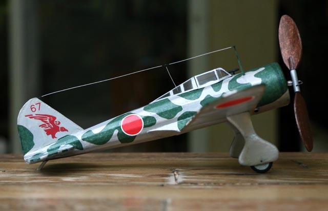 Nakajima Ki-27 - oz5341 - Eldon Masini