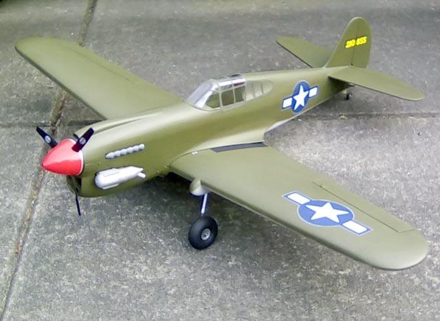 P-40 Warhawk - oz5611 - Dan Owen