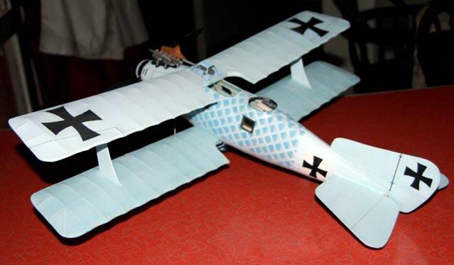 Roland CII Walfisch - oz706 - Sky9pilot