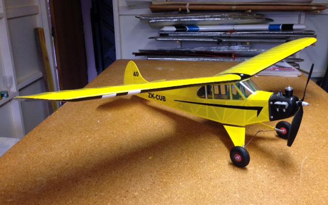 Piper Cub J3 - oz7469 - AllanKnox