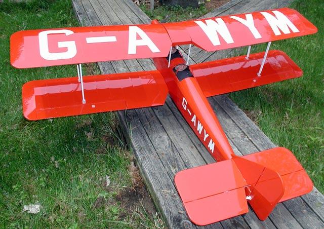 Avro Avian - oz8885 - TomDecker