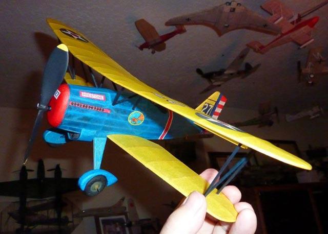 Curtiss Hawk P-6E - oz96 - Neal Green