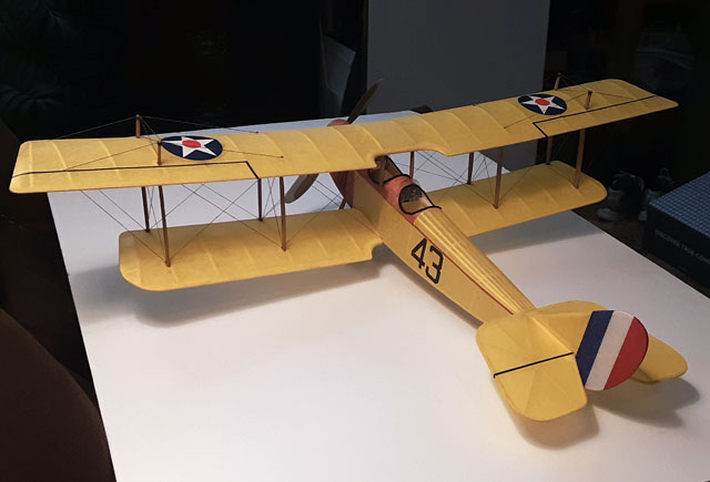 Curtiss Jenny JN4D - oz97 - DaveBarber