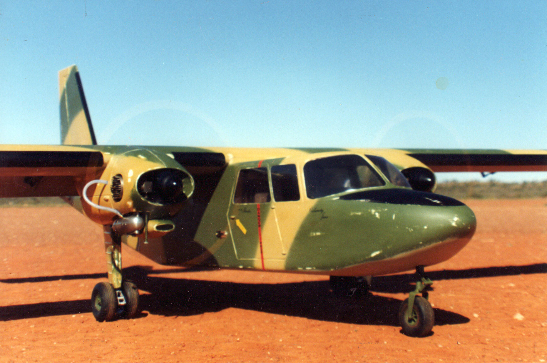 Britten-Norman Islander - oz9714 - JeffBrowne