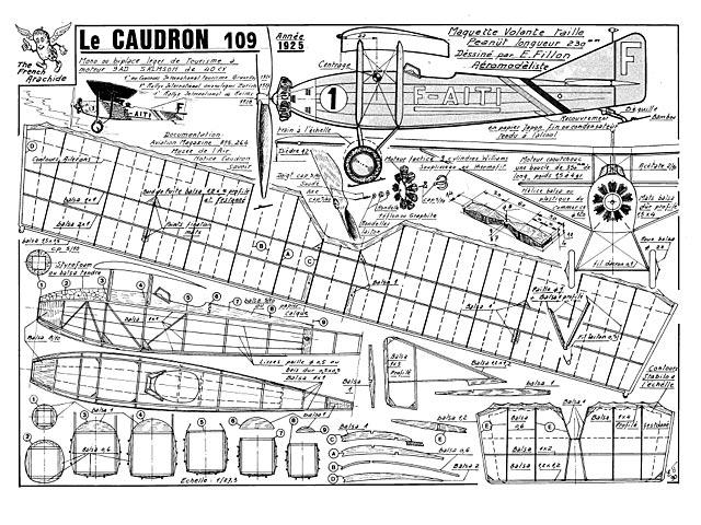 Caudron 109 (oz1000) by Emmanuel Fillon