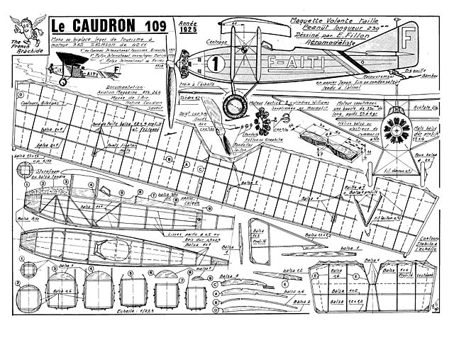 Caudron 109 - Emmanuel Fillon - 17in