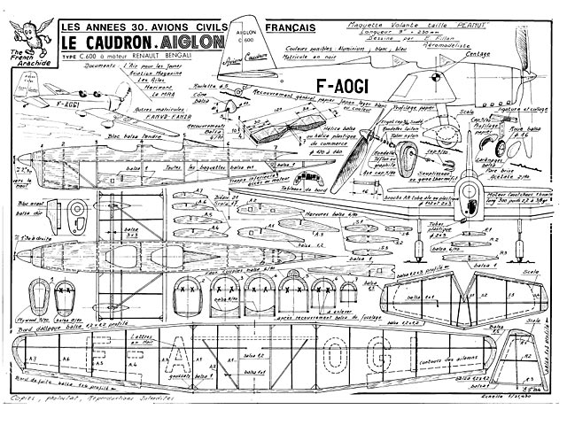 Caudron Aiglon (oz1001) by Emmanuel Fillon