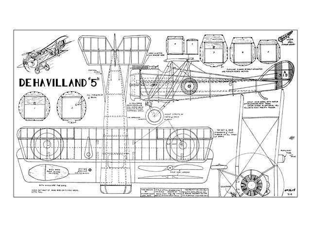 DeHavilland DH.5 - plan thumbnail image
