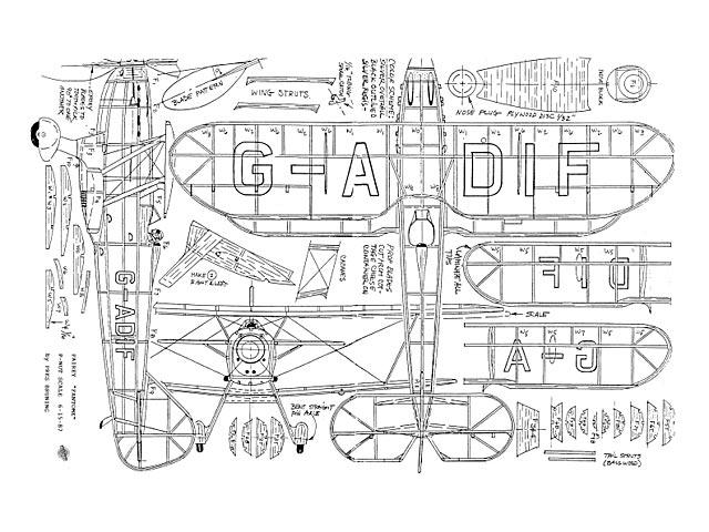 Fairey Fantome - plan thumbnail image
