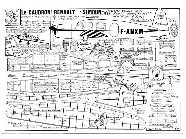 Caudron Simoun (oz1005) by Emmanuel Fillon
