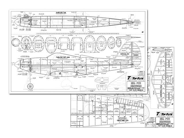 Bell P-39 Airacobra - plan thumbnail image