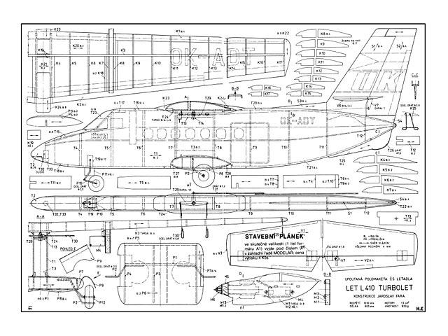 Let L-410 Turbolet - plan thumbnail image
