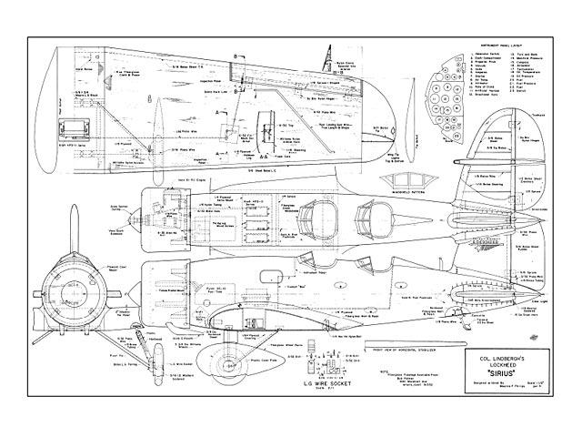 Lockheed Sirius - plan thumbnail image