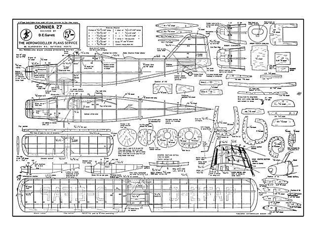 Dornier 27 - plan thumbnail image