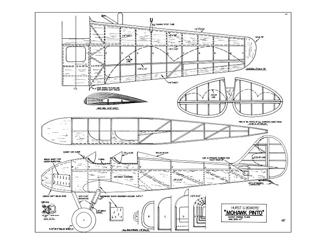 Mohawk Pinto - 10133