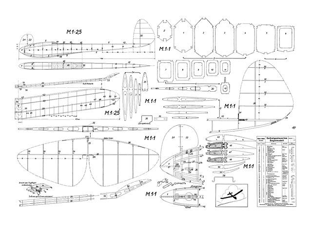 Selbstgesteuertes Segelmodell - plan thumbnail image