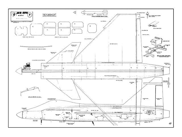 Saab JAS 39 Gripen - plan thumbnail image