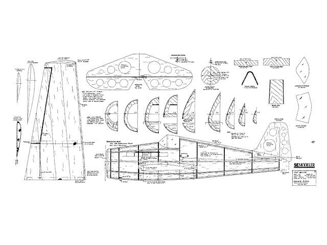 F6F Hellcat - plan thumbnail image
