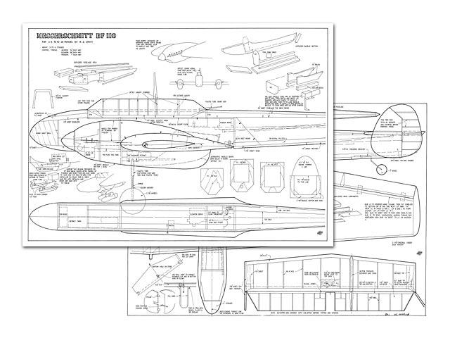 Messerschmitt Me110 - 10160