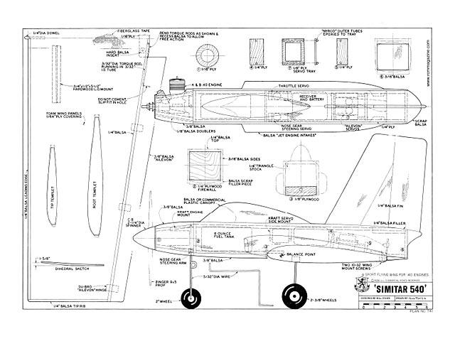 Simitar 540 - plan thumbnail image