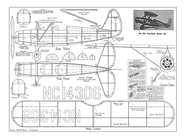 Fairchild 22 - plan thumbnail image