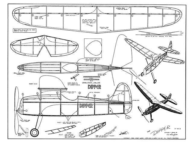 Dipper 3 - Vito M Garofalo - Comet - 1946 - 24in