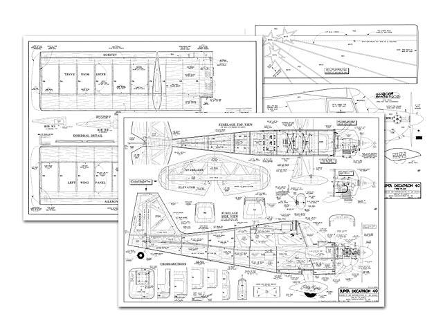 Super Decathlon 40 - plan thumbnail image