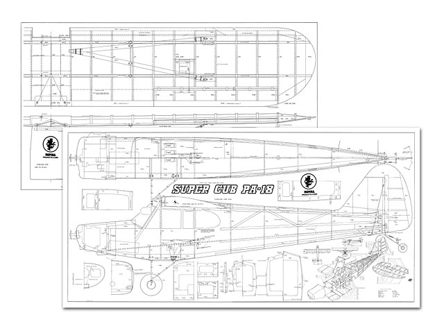 Super Cub PA-18 - plan thumbnail image