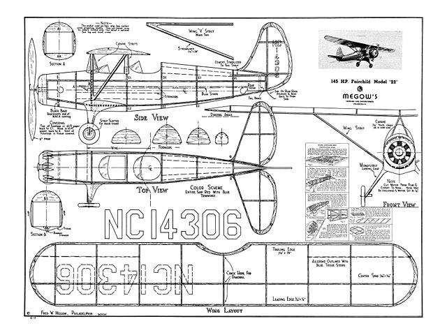 Fairchild Model 22 - plan thumbnail image