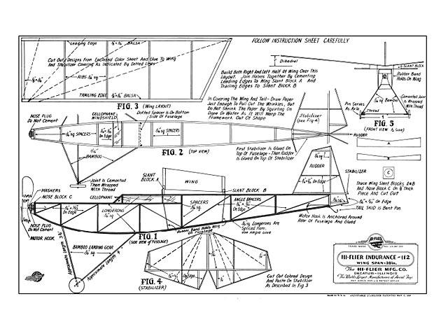 Hi-Flier Endurance (oz10238) from Hi-Flier