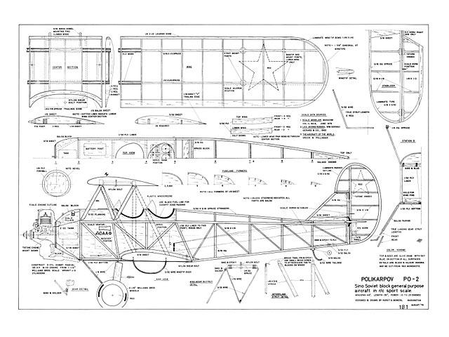 Polikarpov Po-2 - plan thumbnail image