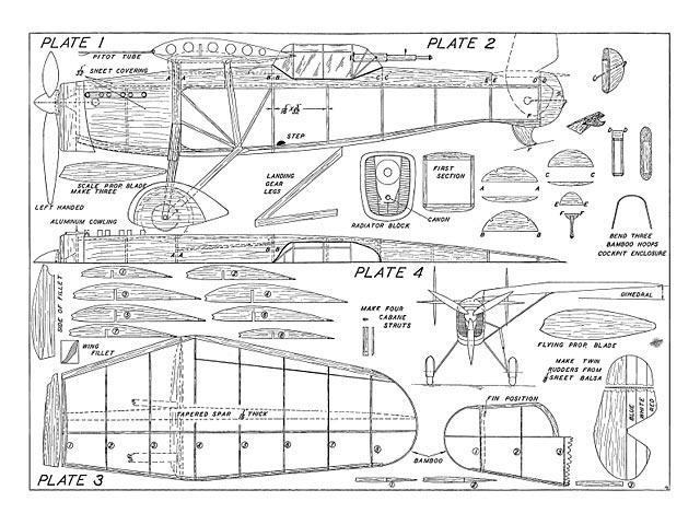 Mureaux 180-C2 Pursuit - plan thumbnail image