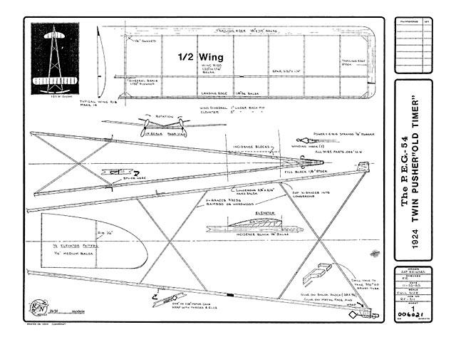PEG 54 Twin Pusher - plan thumbnail image
