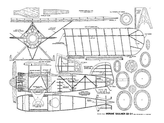 Morane Saulnier 221 C-1 - plan thumbnail image