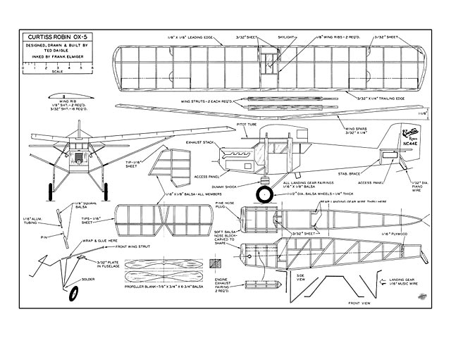 Curtiss Robin - plan thumbnail image