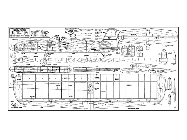 Heinkel Stunter - plan thumbnail image