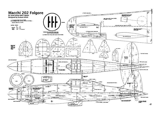 Macchi 202 Folgore - plan thumbnail image