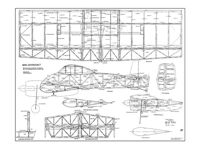 Mini Skyrocket - plan thumbnail image