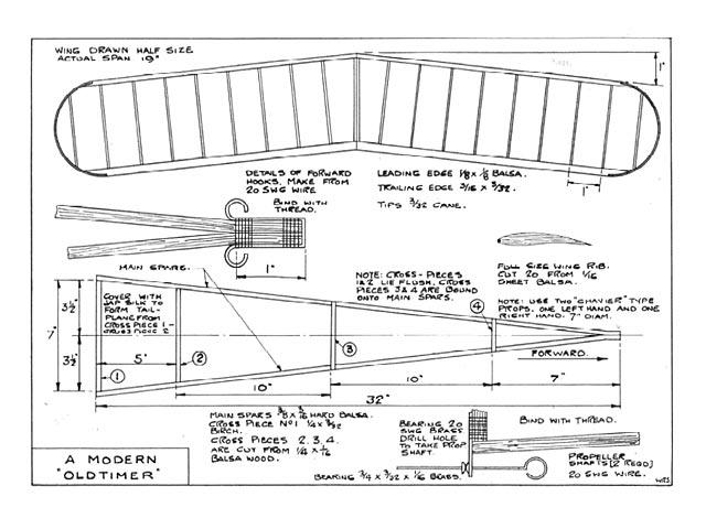 Modern Old Timer - plan thumbnail image