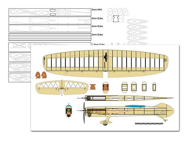Gee Bee R3 - plan thumbnail image