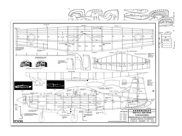 Pilatus PC-9 - plan thumbnail image