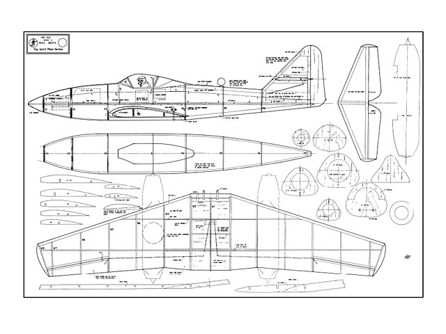 Me 262 - plan thumbnail image