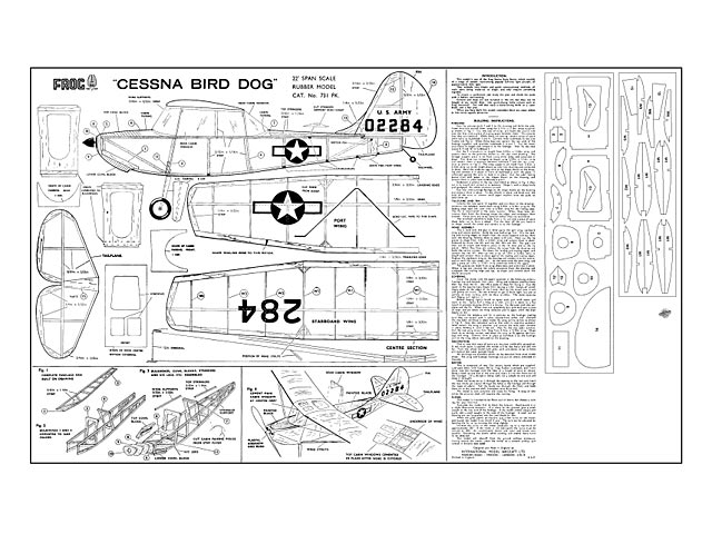 Cessna Bird Dog - plan thumbnail image