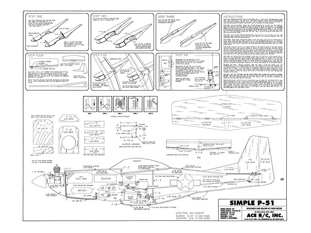 Simple P-51 - plan thumbnail image