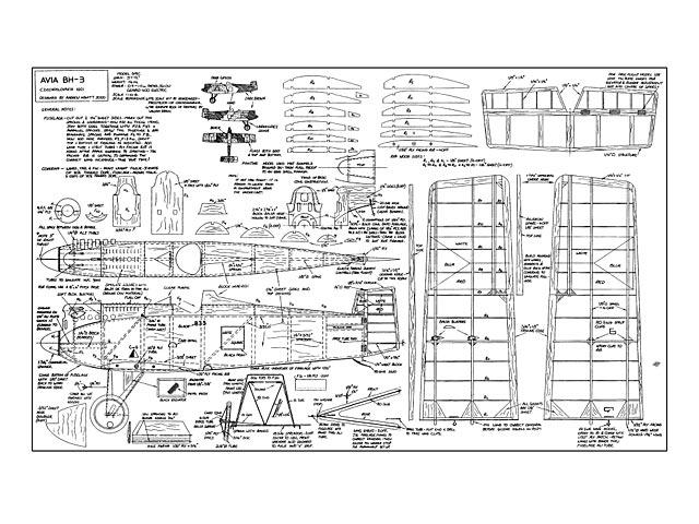 Avia BH-3 - 10535