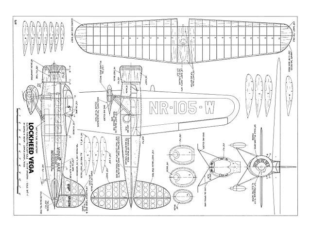 Lockheed Vega - 10545