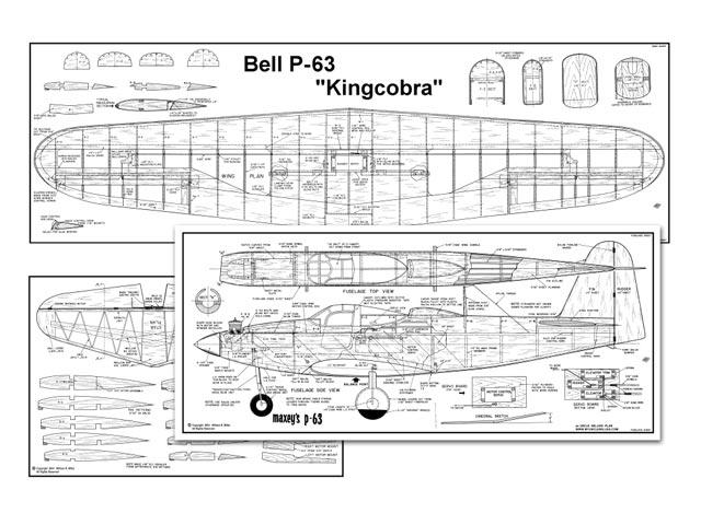 P-63 Kingcobra - plan thumbnail image