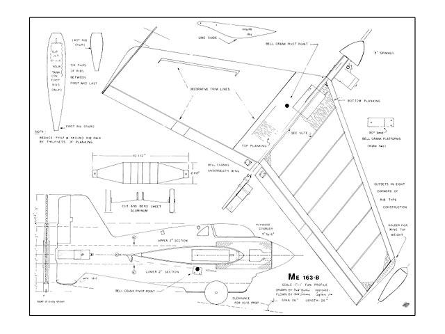 Me 163B - plan thumbnail image