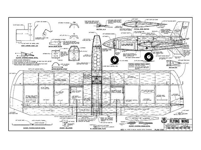 Flying Wing - plan thumbnail image